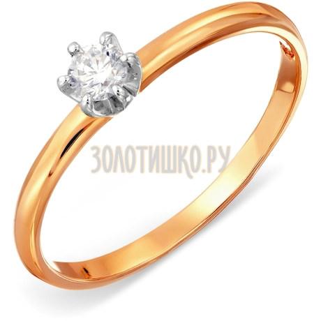 Кольцо с бриллиантами Т131017499-3