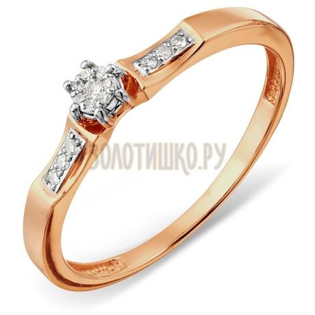 Кольцо с бриллиантами Т131017894