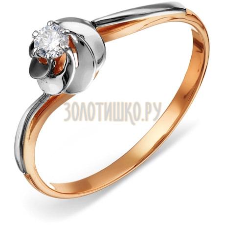 Кольцо с бриллиантом Т131018313-1