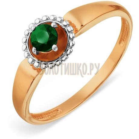 Кольцо с изумрудом Т131018799