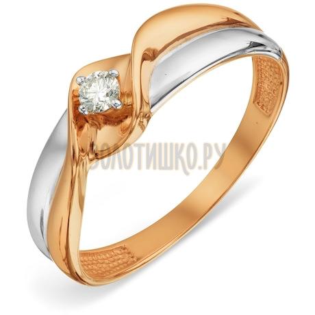 Кольцо с бриллиантом Т131018849