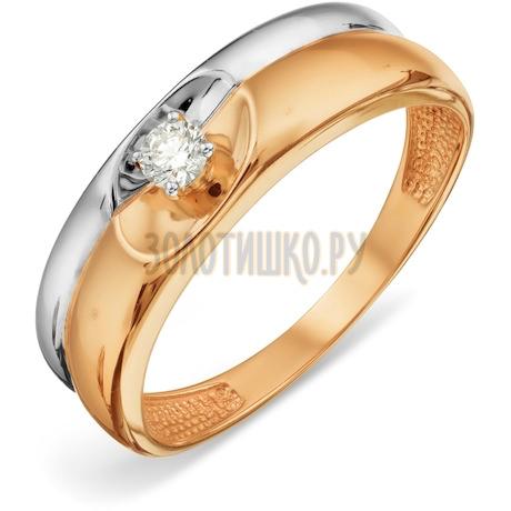 Кольцо с бриллиантом Т131018850