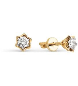 Серьги с бриллиантами Т131021818