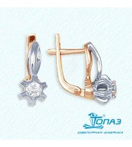 Серьги с бриллиантами Т131022004