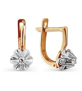 Серьги с бриллиантами Т131024809