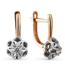 Серьги с бриллиантами Т131024811