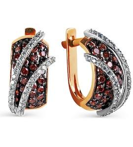 Серьги с бриллиантами Т131025115