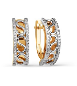Серьги с бриллиантами Т131025131