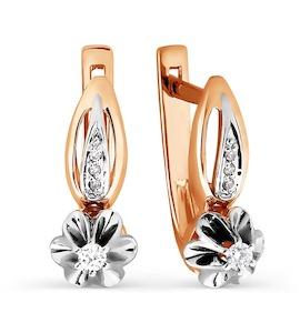 Серьги с бриллиантами Т131026379