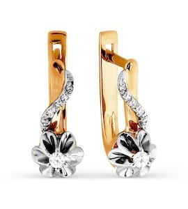 Серьги с бриллиантами Т131026380