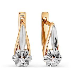 Серьги с бриллиантами Т131026383