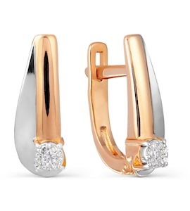Серьги с бриллиантами Т131027745