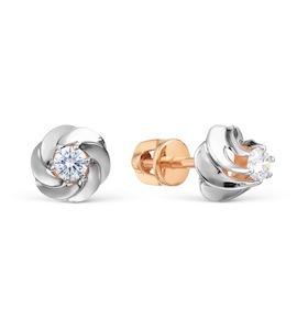 Серьги с бриллиантами Т131028584