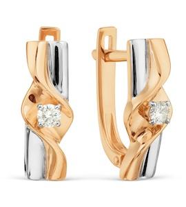 Серьги с бриллиантами Т131029204