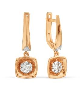 Серьги с бриллиантами Т131029287