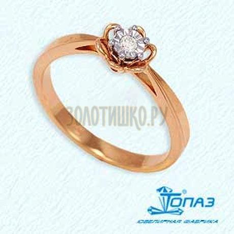 Кольцо с бриллиантом Т135611717