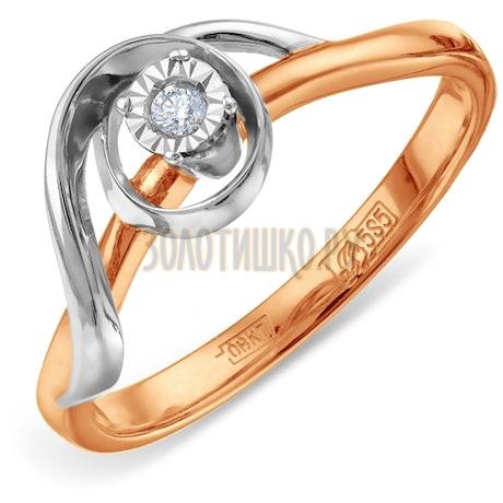 Кольцо с бриллиантом Т135611957