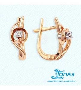Серьги с бриллиантами Т135622071