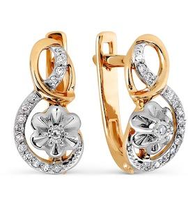 Серьги с бриллиантами Т135627383