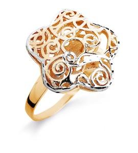 Кольцо из красного золота Т140611938