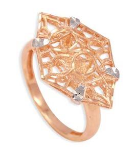 Кольцо из красного золота Т140611943