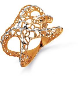 Кольцо из красного золота Т140612297