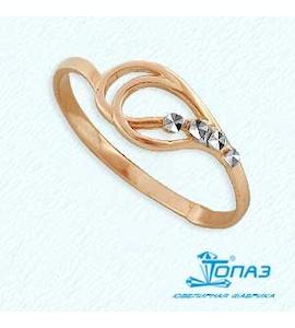 Кольцо из красного золота Т140612429