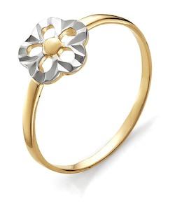 Кольцо из красного золота Т140613591