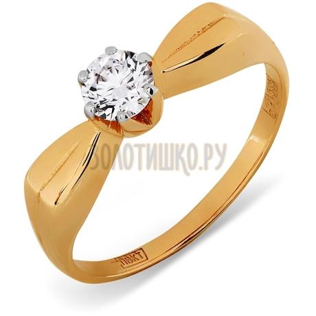 Кольцо с бриллиантом Т141011081