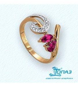 Кольцо с изумрудами и бриллиантами Т141011336_2