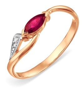 Кольцо с изумрудом и бриллиантами Т141011339_3