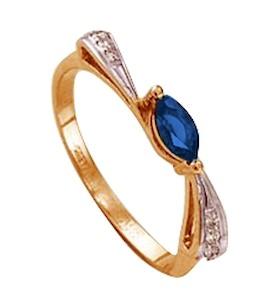 Кольцо с изумрудом и бриллиантами Т141011342_2