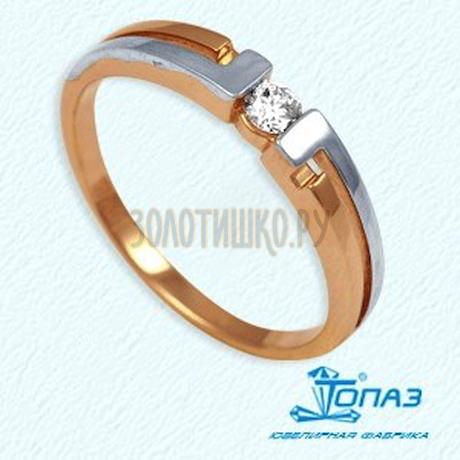 Кольцо с бриллиантом Т141011361