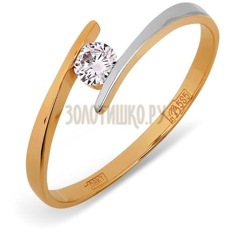 Кольцо с бриллиантом Т141011528
