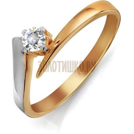 Кольцо с бриллиантом Т141011533