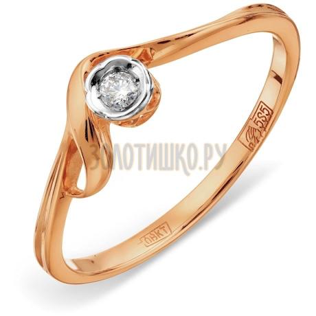 Кольцо с бриллиантом Т141011551