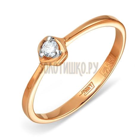 Кольцо с бриллиантом Т141011553
