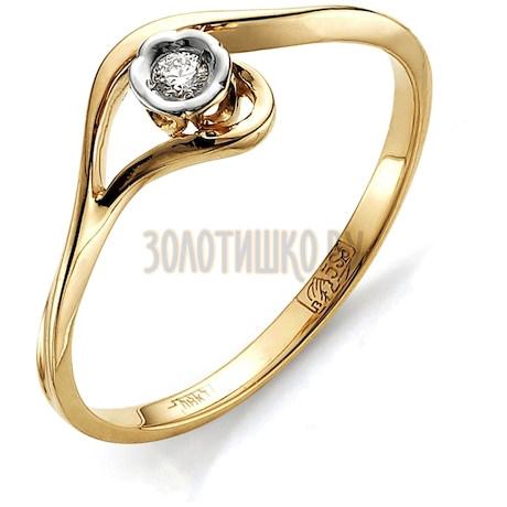 Кольцо с бриллиантом Т141011555