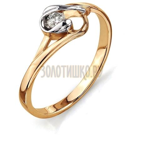 Кольцо с бриллиантом Т141011568