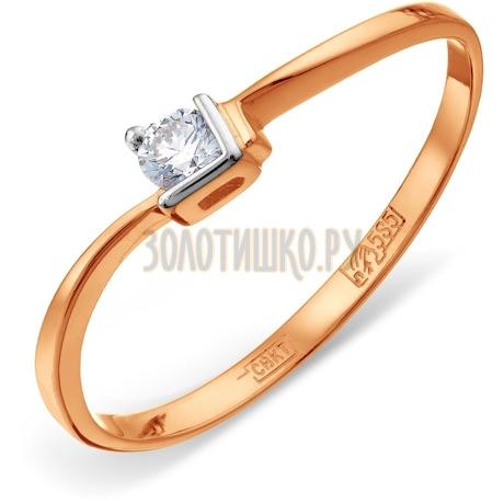 Кольцо с бриллиантом Т141011583