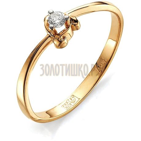 Кольцо с бриллиантом Т141011592