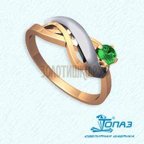 Кольцо с изумрудом Т141011612