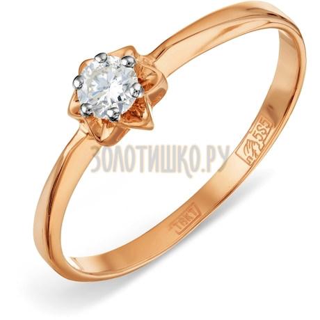 Кольцо с бриллиантом Т141011621