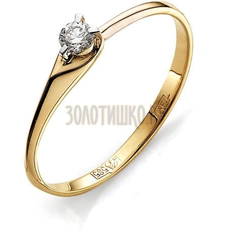 Кольцо с бриллиантом Т141011641