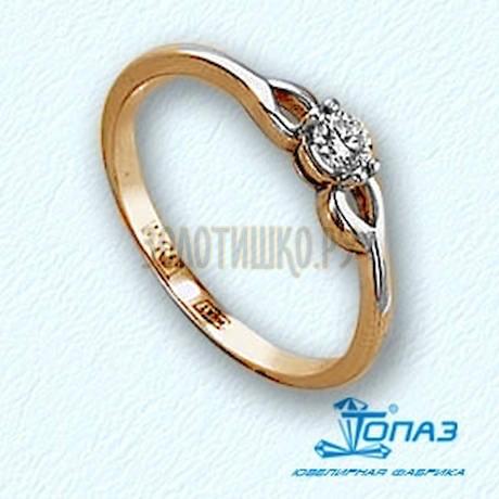 Кольцо с бриллиантом Т141011643