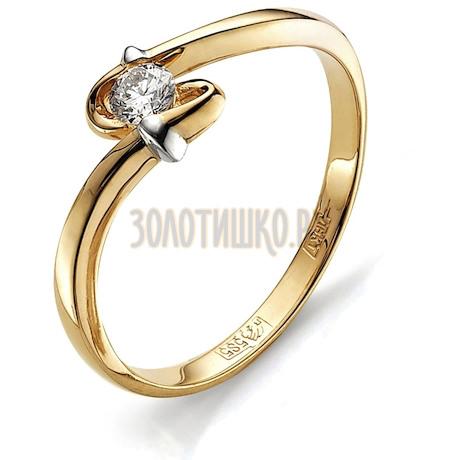 Кольцо с бриллиантом Т141011653