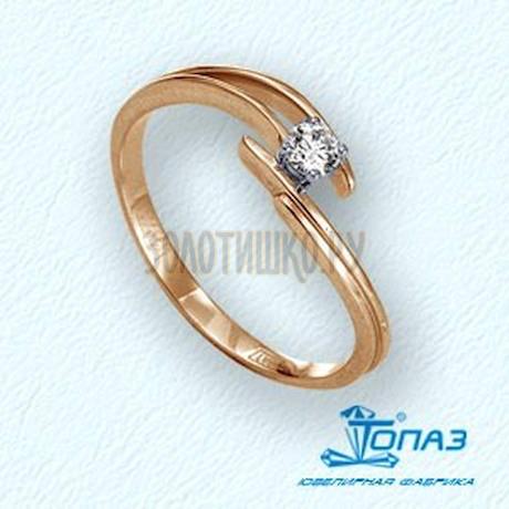 Кольцо с бриллиантом Т141011659