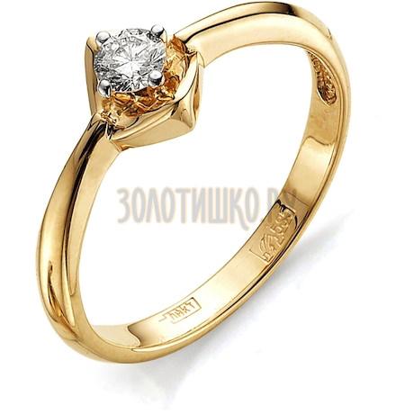 Кольцо с бриллиантом Т141011681