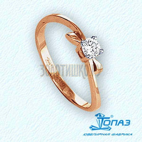 Кольцо с бриллиантом Т141011682