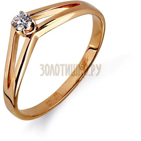 Кольцо с бриллиантом Т141011688